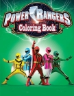 Power Rangers Coloring Book Cover Image