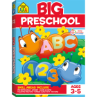 Big Preschool Workbook Cover Image