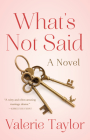 What's Not Said Cover Image