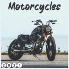 Motorcycles: 2021 wall & Office Calendar 16 Monthe Cover Image