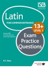 Latin for Common Entrance 13+ Exam Practice Questionslevel 1 Cover Image