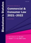 Blackstone's Statutes on Commercial & Consumer Law 2021-2022 Cover Image