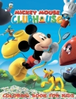 Mickey Mouse Coloring Book For kids: 120 Coloring Pages For kids Ages 4-8 Cover Image