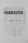 Frankenstein (Word Cloud Classics) Cover Image