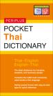Pocket Thai Dictionary: Thai-English English-Thai (Periplus Pocket Dictionary) Cover Image