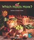 Which Holds More?: Learning to Compare Volume (Math for the Real World: Early Emergent) Cover Image