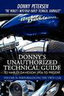 Donny's Unauthorized Technical Guide to Harley Davidson 1936 to Present: Volume II: Performancing the Twin CAM Cover Image