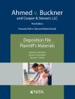 Ahmed V. Buckner and Cooper & Stewart, LLC: Deposition File, Plaintiff's Materials Cover Image