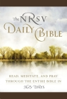 The NRSV Daily Bible  (Brown Imitation Leather): Read, Meditate, and Pray Through the Entire Bible in 365 Days Cover Image