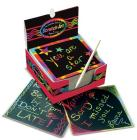Rainbow Mini Scratch Art Notes (Box of 125) Cover Image