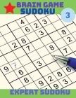Brain Game - Sudoku: Hard Sudoku Puzzle Book Volume 3 Cover Image