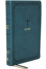 Nkjv, Reference Bible, Compact, Leathersoft, Teal, Red Letter Edition, Comfort Print: Holy Bible, New King James Version Cover Image