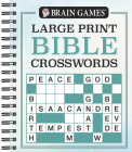 Brain Games - Large Print Bible Crosswords Cover Image