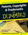 Patents, Copyrights and Trademarks for Dummies [With CDROM] Cover Image