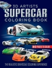 SUPERCARS Coloring Book: 3D Render Artist Cover Image