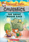 The Great Mouse Race (Geronimo Stilton: Cavemice #5) Cover Image