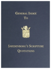 General Index to Swedenborg's Scripture Quotations Cover Image