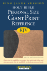 Personal Size Giant Print Reference Bible-KJV Cover Image