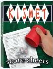 Kismet Score Sheets: 100 Kismet Score Pads, Kismet Dice Game Score Book, Kismet Dice Game Score Sheets Cover Image