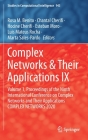 Complex Networks & Their Applications IX: Volume 1, Proceedings of the Ninth International Conference on Complex Networks and Their Applications Compl (Studies in Computational Intelligence #943) Cover Image
