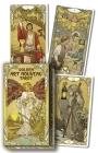 Golden Art Nouveau Tarot Cover Image
