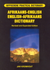 Afrikaans-English/English-Afrikaans Practical Dictionary (Hippocrene Practical Dictionary) Cover Image