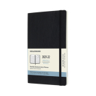Moleskine 2021-2022 Monthly Planner, 18M, Large, Black, Soft Cover (5 x 8.25) Cover Image