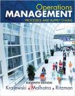 Operations Management: Processes and Supply Chains, Student Value Edition Cover Image