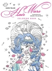 Hair Wars Coloring Book Cover Image
