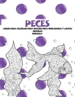 Libros para colorear para adultos para marcadores y lápices - Mandala - Animales - Peces Cover Image
