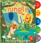 Seek & Peek Jungle: A Lift the Flap Pop-Up Book about Colors! Cover Image