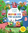 Numbers To Learn: Lift-the-Flap Book (Clever Flaps) Cover Image