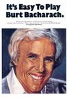 It's Easy to Play Burt Bacharach Cover Image