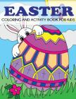 Easter Coloring and Activity Book for Kids Cover Image