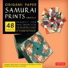 Origami Paper - Samurai Prints - Large 8 1/4 - 48 Sheets: Tuttle Origami Paper: High-Quality Origami Sheets Printed with 8 Different Designs: Instruct Cover Image