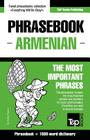 English-Armenian phrasebook and 1500-word dictionary Cover Image