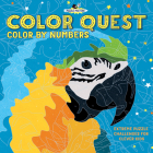 Color Quest: Color by Numbers: Extreme Puzzle Challenges for Clever Kids (Puzzle Masters) Cover Image