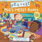 Peg + Cat: Peg's Messy Room Cover Image