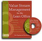 Value Stream Management for the Lean Office: Eight Steps to Planning, Mapping, and Sustaining Lean Improvements in Administrative Areas [With CDROM] Cover Image
