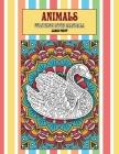 Coloring Book Mandala Animals - Large Print Cover Image