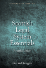 Scottish Legal System Essentials (Edinburgh Law Essentials) Cover Image
