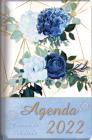 2022 Agenda - Tesoros de Sabiduría - Rosas Azules Reales: Con Un Pensamiento Motivador O Un Versículo de la Biblia Para Cada Día del Año Cover Image