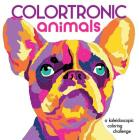 Colortronic Animals: A Kaleidoscopic Coloring Challenge Cover Image