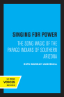 Singing for Power: The Song Magic of the Papago Indians of Southern Arizona Cover Image