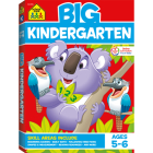 Big Kindergarten Workbook Cover Image