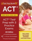 ACT Prep Book 2020-2021: ACT Test Prep with 3 Practice Exams [6th Edition] Cover Image