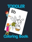 Toddler Coloring Book: Preschool Coloring Book Fun with Numbers, Letters, Colors, and Animals! Cover Image