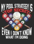 My Pool Strategy is Top Secret Even I Dont Know what Iam Doing: Planner Weekly and Monthly for 2020 Calendar Business Planners Organizer For To do lis Cover Image