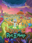 The Art of Rick and Morty Volume 2 Cover Image