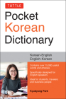 Tuttle Pocket Korean Dictionary: Korean-English, English-Korean Cover Image